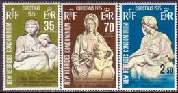 NEW HEBRIDES(English Inscr.) 1975 SG 204-06 Compl.set MLH Christmas - English Legend