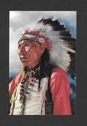 INDIENS AMÉRIQUE DE NORD - INDIANS - CHEF INDIENS - Indiens De L'Amerique Du Nord