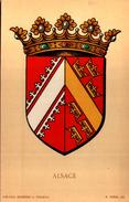 Blason ALSACE  - R. Louis Del. - Girard Barrere Et Thomas - France