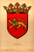 Blason GUYENNE  - R. Louis Del. - Girard Barrere Et Thomas - France