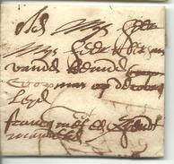 Franco Vouwbrief Van 10 September 1681 Van Oudenaarde Naar Gent Met Aanduiding 'francq' - 1621-1713 (Spaanse Nederlanden)