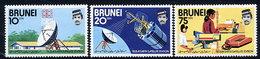 BRUNEI 1979 Earth Satellite Station MNH / **.  SG 279-81 - Brunei (...-1984)