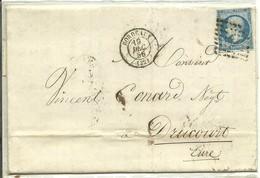 LETTER 1856 BORDEAUX SCANER - Marcofilia (sobres)