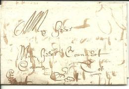 Vouwbrief Van 23 Augustus 1665 Van Oudenaarde Naar Gent Met Aanduiding 'cito Cito Cito' - 1621-1713 (Spaanse Nederlanden)