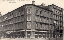 SAN SEBASTIAN (SAINT-SEBASTIEN) LA SOCIETE GENERALE 37 AVENIDA - Guipúzcoa (San Sebastián)