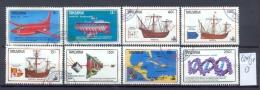 TANSANIA -  624/31  Entdeckung Amerikas 500 J.   Kompl. Gestemp. - Tanzania (1964-...)