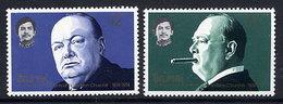 BRUNEI 1974 Churchill Centenary  MNH / **.  SG 239-40 - Brunei (...-1984)