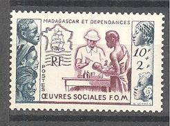 Madagascar: Yvert N° 320* - Madagascar (1889-1960)