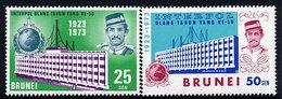 BRUNEI 1973 50th Anniversary Of Interpol  MNH / **.  SG 212-13 - Brunei (...-1984)