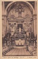 Chile Santiago Interior Iglesia de Santiago
