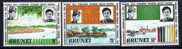 BRUNEI 1971 Installation Of Ruler  MNH / **.  SG 184-86 - Brunei (...-1984)