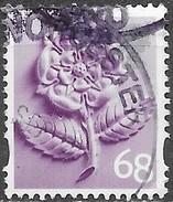 GB - Angleterre (68p) - Y&T N° 2489 - Oblitéré - 1952-.... (Elizabeth II)