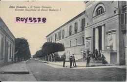 Calabria-vibo Valentia Corso Umerto I Veduta Edificio Regio Liceo Ginnasio Animata Anni/30 - Vibo Valentia