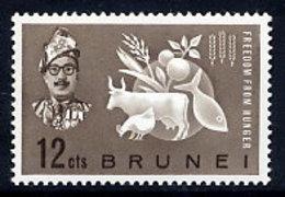 BRUNEI 1963 Freedom From Hunger  MNH / **.  SG 117 - Brunei (...-1984)