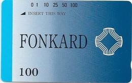 Philippines - PLDT - Definitive - Fonkard - Tamura - 100Units, 1990, Mint