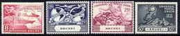 BRUNEI 1949 UPU Anniversary Set Of 4  MNH / **  SG 96-99 - Brunei (...-1984)