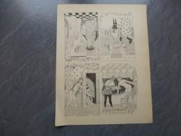 BALZAC La Pucelle De Thilouze Carrington 1901 L. Lebègue, Planche  Avec Femme Nue  ; Ref 602 G 11 - Prints & Engravings