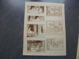 BALZAC La Pucelle De Thilouze Carrington 1901 L. Lebègue, Planche érotique  ; Ref 610 G 11 - Prints & Engravings