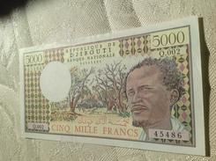 Djibouty 5000 Francs - Djibouti