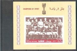 AJMAN  World Cup-66  S/Sheet  MNH