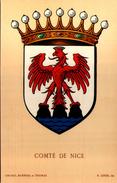 Blason COMTE De NICE  - R. Louis Del. - Girard Barrere Et Thomas - France