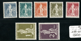 15167  Berlin 1949  Michel#35/41* ( Cat 220.€ ) Offers Welcome. - Unused Stamps
