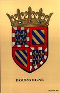 Blason BOURGOGNE  - R. Louis Del. - Girard Barrere Et Thomas - France