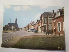 Cp1300 E7  CANDAS  Rue De Doullens  404 Ami6 - Autres Communes
