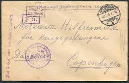 1916 Germany Kriegsgefangenen POW Censor Cover Guttersloh - Germany