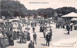 (85) Fontenay Le Comte - La Foire De La St Saint Jean - 2 SCANS - Fontenay Le Comte