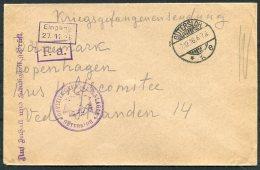 1916 Germany Kriegsgefangenen POW Censor Cover Guttersloh Lager - Germany
