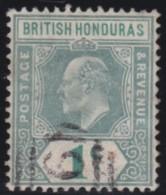 British  Honduras       .       SG     .     84a     .         O       .          Gebruikt   .    /    .   Cancelled - Brits-Honduras (...-1970)