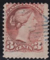 Canada       .       SG     .     95   P  11 1/2  X  12      .        O       .      Gebruikt   .    /    .   Cancelled - 1851-1902 Regering Van Victoria