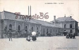 (85) La Roche Sur Yon - La Gare - Attelage - 2 SCANS - La Roche Sur Yon