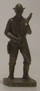 Kinder Métal 1980 N°1 Bill Tilghman - Figurines En Métal