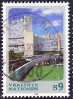 UN Wien Vienna Vienne - Dauerserie/time Series/Les Séries Chronologiques 1998 - Gest. Used Obl. - Usati