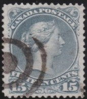 Canada       .       SG     .   66   P.  11 3/4 X 12     .        O       .          Gebruikt   .    /    .   Cancelled - 1851-1902 Regering Van Victoria