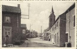 Anthisnes -- La  Rue  De L' Eglise.   (2 Scans) - Anthisnes
