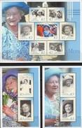 Ehrung Queen Mum 2002 Papua New Guinea 931/7 KB+Block 22/23 ** 27€ Memorial Porträt Bloc Ss Royal Sheet Bf Oceanien - Papua-Neuguinea