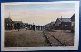 CPA Interneeringskamp Bij Zeist Camp De Zeist Kampweg Door Kamp II Chemin Principal Du Camp II 1916 - Guerre 1914-18