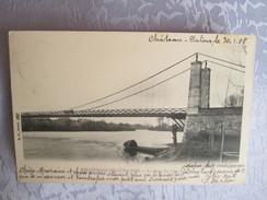 VILLEFRANCHE SUR CHER . LE PONT DU CHER . DOS 1900 - France