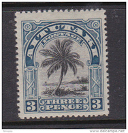 Cook Islands -Aitutaki SG 27 1920  3d Black And Deep Blue Mint - Cook Islands