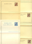 AZORES Letter Cards #K10-12 Complete Set Mint 1911 - Azores