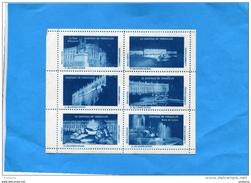 FRANCE-ERINNOPHILIE- 6 Vignettes**Bloc En Carnet-comité Du VAR-Sauvegarde Chateau De Versaille   Neuve Sans Ch - Commemorative Labels