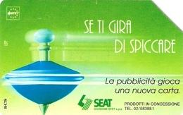 *ITALIA: SE TI GIRA DI SPICCARE (VERDE)(B)* - Scheda Usata - Italia