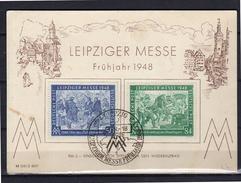 Leipziger Messe 1948 (d37a) - Gemeinschaftsausgaben