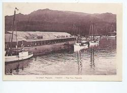 Polynésie Française. Tahiti :le Quai D'embarquement à Papeete - Polinesia Francesa
