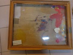 Cadre Seul Bois-46x36 Avec Contreplaque Et Vitre Plastique - Popular Art