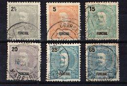1897 - 1905  Lot De 6 Timbres  Valeurs Différentes - Funchal