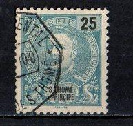 1 Timbre Oblitéré - St. Thomas & Prince
